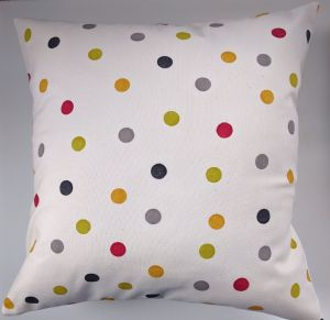 "Cushion Cover in Emma Bridgewater Black and Red Polka Dot 14"" 16"" 18"" 20"""